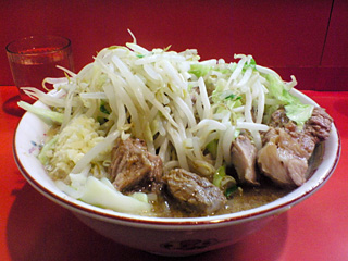 仙川店:小豚・野菜・ニンニク