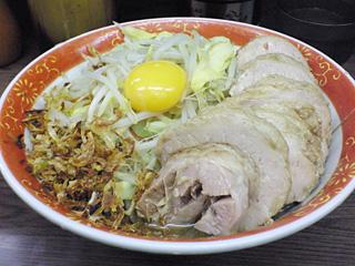 横浜関内店:小豚汁なし・野菜・ニンニク