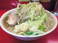 ラーメン二郎 神田神保町店:小豚・麺固め・ニンニク・カラメ