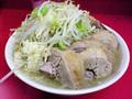ラーメン二郎 桜台駅前店:小豚・麺固め・ニンニク・ヤサイ