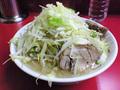 ラーメン二郎 桜台駅前店:小・麺固め・ヤサイ・カラメ