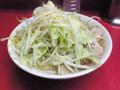 ラーメン二郎 桜台駅前店:小・麺固め・ニンニク・ヤサイ・カラメ