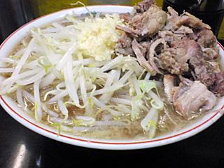 高田馬場店:小豚・麺固め・ニンニク