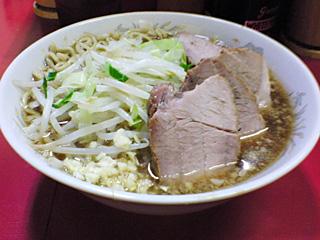 上野毛店:小豚・麺固め・ニンニク