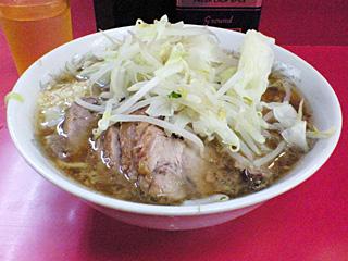 環七一之江店:小豚・麺固め・ニンニク