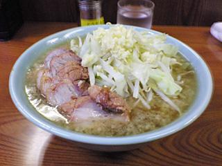 亀戸店:小豚・麺固め・ニンニク