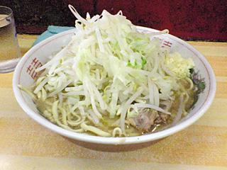 品川店:小・麺固め・ヤサイ・ニンニク