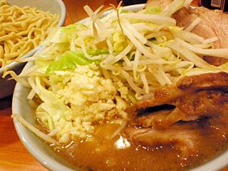 八王子野猿街道2店:小豚つけ麺・ニンニク