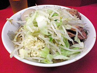 環七一之江店:小豚汁なし・ニンニク・野菜・味玉