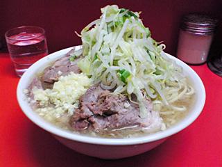 小豚・麺固め・ニンニク