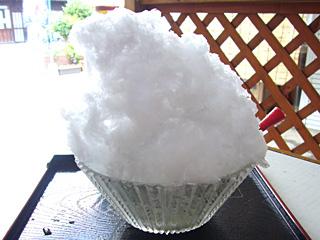 天然氷・かき氷(ミルク)