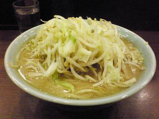 ラーメン二郎 池袋東口店:小豚・麺固め・ヤサイ・ニンニク