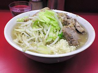 ラーメン二郎 桜台駅前店:小豚・ニンニク