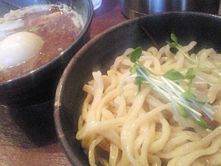 つけめんTETSU:強つけ麺・チャーシュー・味玉