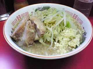 ラーメン二郎 相模大野駅前店:小・麺固め・ニンニク・カラメ