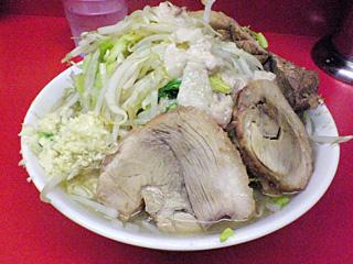 ラーメン二郎 桜台駅前店:小豚・麺固め・全部
