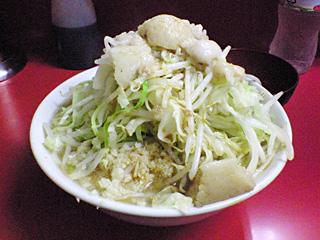ラーメン二郎 桜台駅前店:小(麺固め)・全部