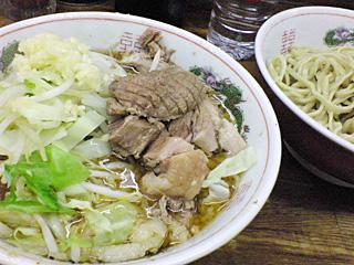 ラーメン二郎 新小金井街道店:小つけ麺・ニンニク