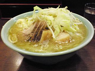 池袋東口店:ぶた入り・麺固め・ニンニク
